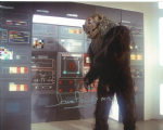 Dave Prowse MBE, Cloud Creature, SPACE 1999 10x8 Genuine Autograph 10223